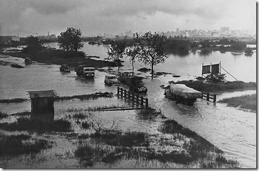 Enchentes - Marginal Tietê - 1960