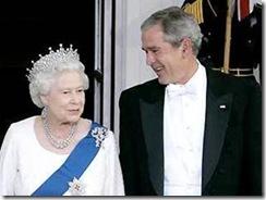 2 Rainha com Bush filho