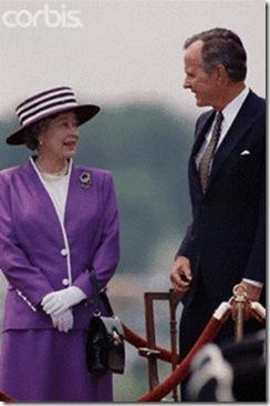 4 Rainha com Bush pai