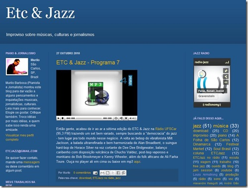 Blog ETC & Jazz