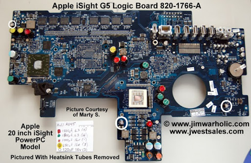 isight g apple mother board