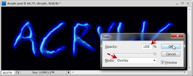 เทคนิคการสร้างตัวอักษร Acrylic [Text Effect] Acrylic39