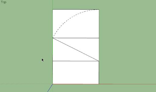 มหัศจรรย์รูปสี่เหลี่ยมกับ SketchUp Sq-21