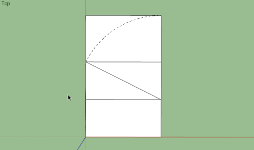 SketchUp - มหัศจรรย์รูปสี่เหลี่ยมกับ SketchUp Sq-21