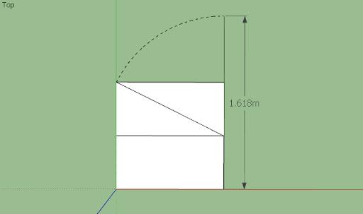 SketchUp - มหัศจรรย์รูปสี่เหลี่ยมกับ SketchUp Sq-20