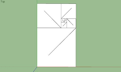 มหัศจรรย์รูปสี่เหลี่ยมกับ SketchUp Sq-25