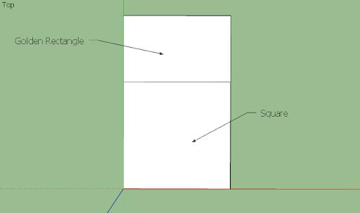มหัศจรรย์รูปสี่เหลี่ยมกับ SketchUp Sq-23