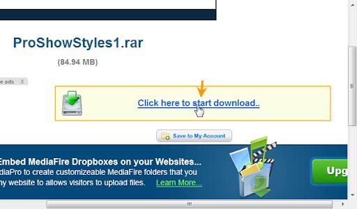 download - เทคนิคการดาวน์โหลดไฟล์จากเว็บ Mediafire ด้วย Internet Download Manager Mediaclick