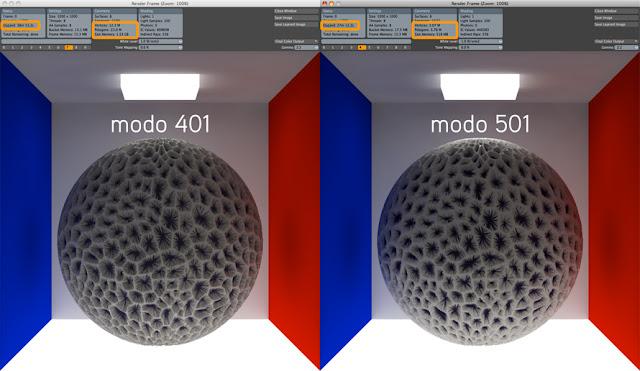 animation - modo 501 Feature Tour 501_displacementasbump_890