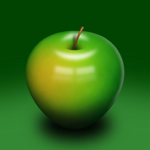 เทคนิคการวาดรูปแอบเปิ้ลสวยๆ Apple