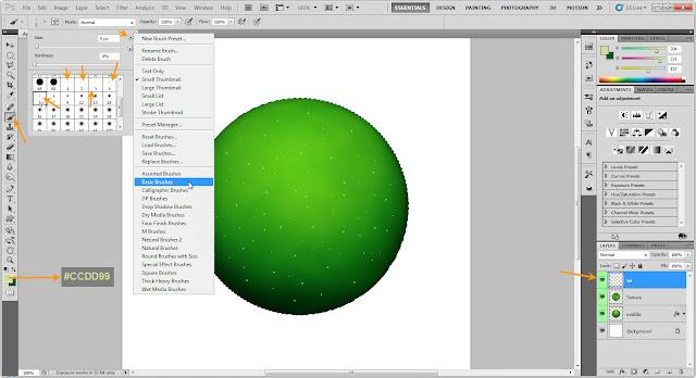 เทคนิคการวาดรูปแอบเปิ้ลสวยๆ Apple08