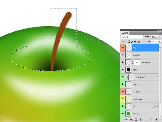 เทคนิคการวาดรูปแอบเปิ้ลสวยๆ Apple45