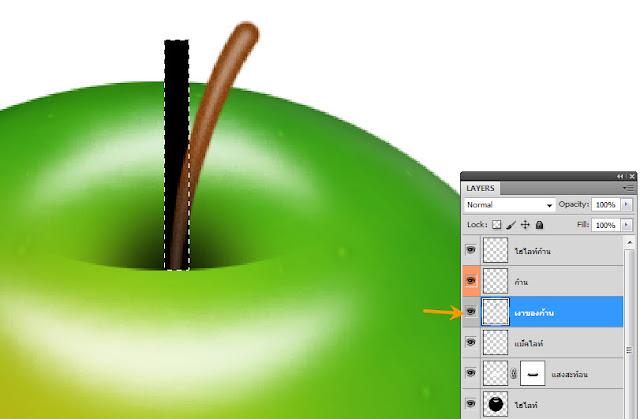เทคนิคการวาดรูปแอบเปิ้ลสวยๆ Apple50
