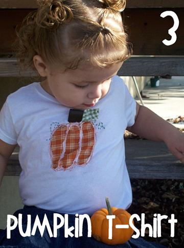 3 Pumpkin Tshirt