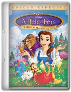 nmjgg Download A Bela e a Fera: O Mundo Mágico da Bela   DVDRip RMVB   Dublado