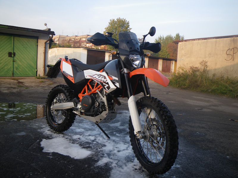 Ktm  Enduro Touring Windscreen