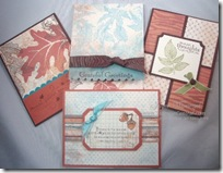 Autumn Meadows DSP card bundle