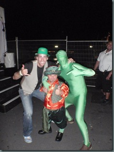 Greenman and Paul on St. Pattys day