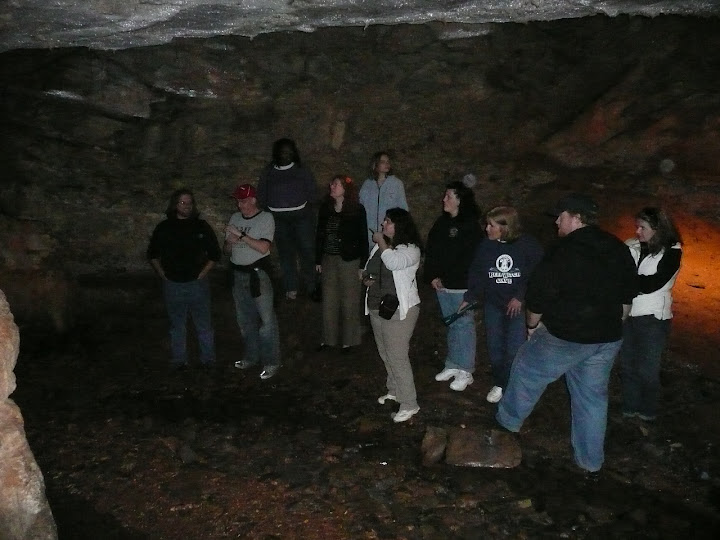 The intrepid spelunkers