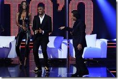 Etoo al Chiambretti Night assiste al sexy spogliarello della modella e showgirl venezuelana Ainett Stephens (Merone - Infophoto)16