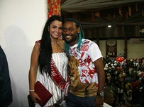 Marta Love e Vagner Love