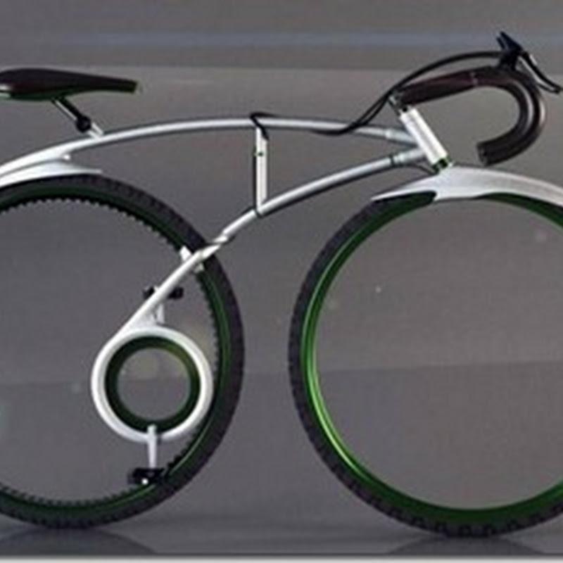 Sepeda TRON yang unik