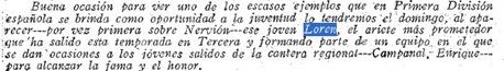 incorporacion Sevilla Loren