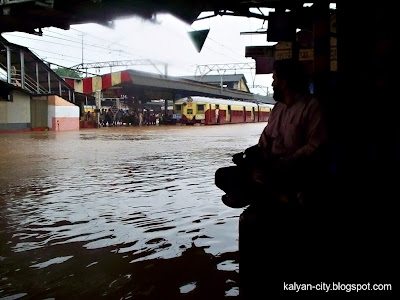 Kalyan Station Submerged