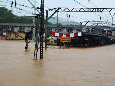 Submerged Kalyan Station