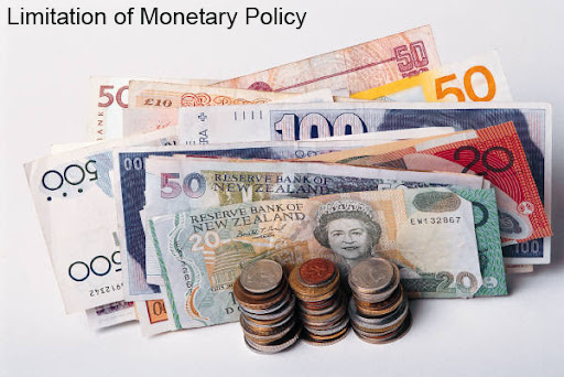 limitations of monetary policy There are limitations on the extent that unconventional polices can be  the  reserve bank has continued to implement monetary policy in the.