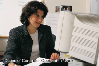 Computer Operator In Office