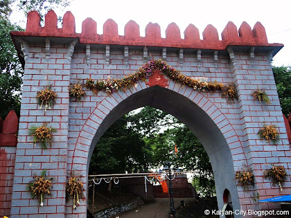 Entrance gate of durgadi fort killa