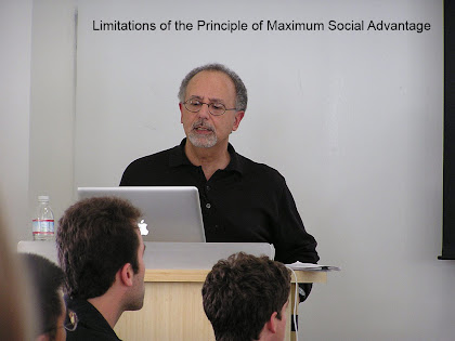 Limitations of the Principle of Maximum Social Advantage