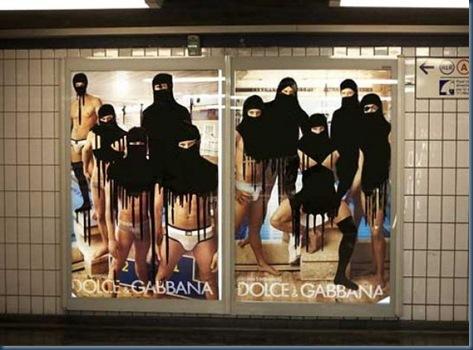 Princess Hijab, l'artista che mette il velo alle pubblicità2