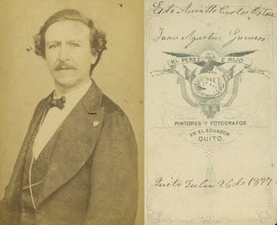 La compilación de las fotografías (pues son dos) corresponden al investigador musical Fidel Pablo Guerrero, y constan en el blog: soymusicaecuador.blogspot.com
