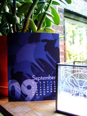 Sept Morning Glory Calendar