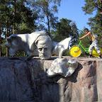 Айдар с бесплатным великом на памятние Сибелиусу
