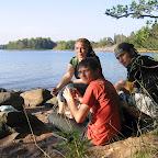 На озере в Хельсинки