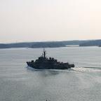 Финский или шведский военный корабль