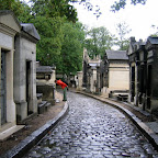 Париж, кладбище Пер-Лашез