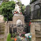 Париж, кладбище Пер-Лашез, могила Шопена