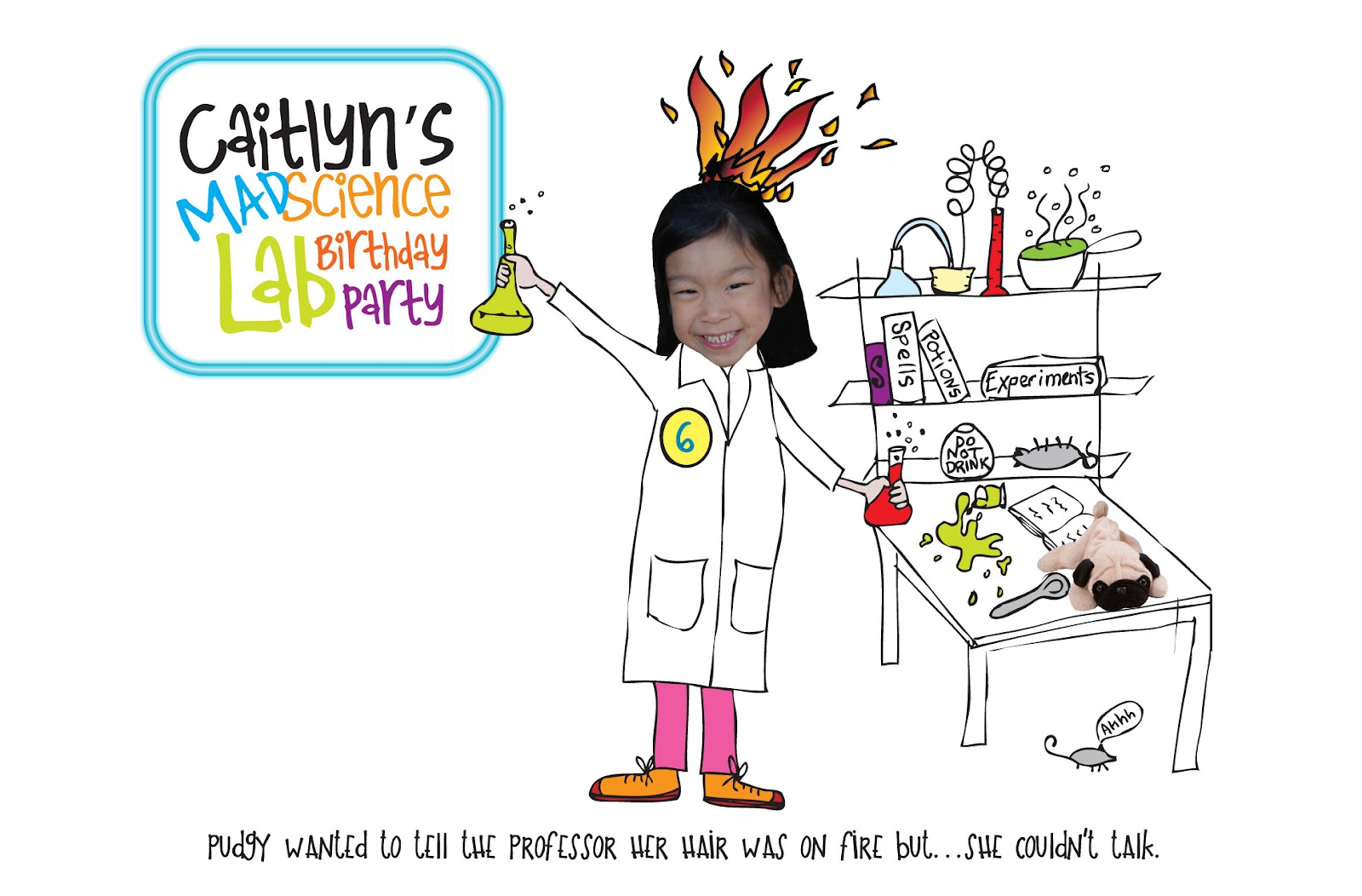 Pure Joy Events: Mad Science Birthday Party