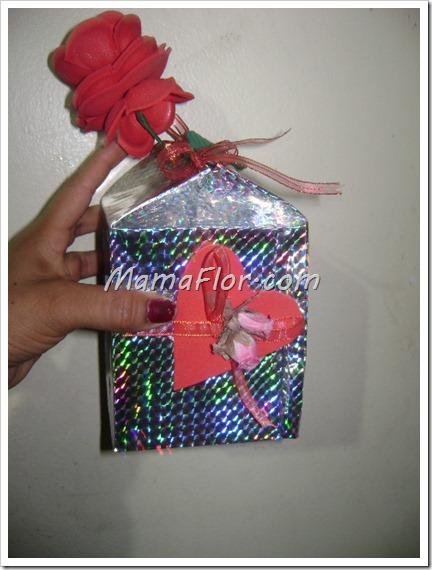 Como hacer una linda caja de regalo para el dia de mama