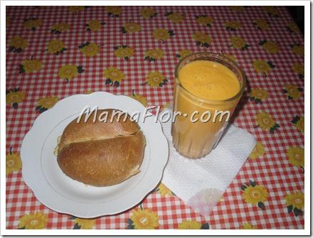 Como hacer el desayuno con jugo energetico