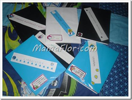 Otras ideas de como decorar los cuadernos - Manualidades MamaFlor