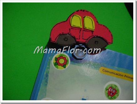 Carrito de Fomys para decorar los Folders y Trabajos de nuestros niños