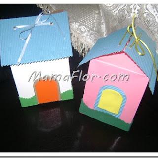 ¡Caja Sorpresa en forma de Casa! Aprende a hacerlo paso a paso