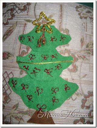 Adorno de arbol para colocarlo en el arbol navideño