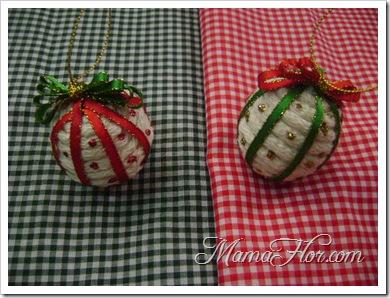aprende a hacer bolas navideas para decorar tu rbol de navidad paso a paso