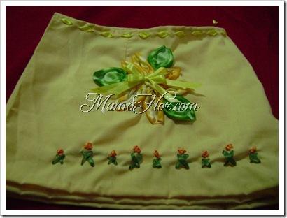Como bordar una falda de niña